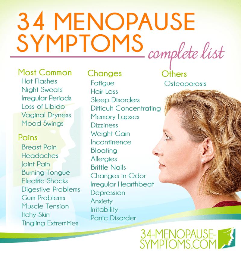 34-menopause-symptoms-list